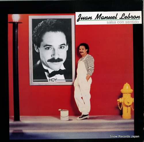 LEBRON, JUAN MANUEL salsa con sentido BROKI8801 - front cover