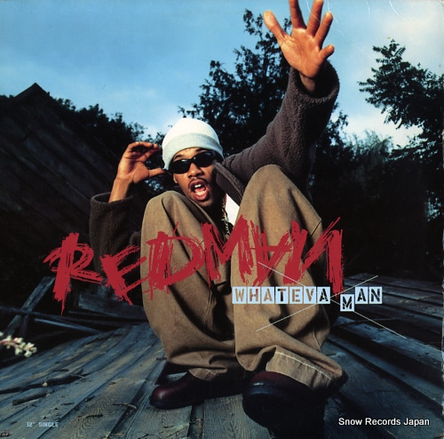 REDMAN whateva man 314574027-1 - front cover