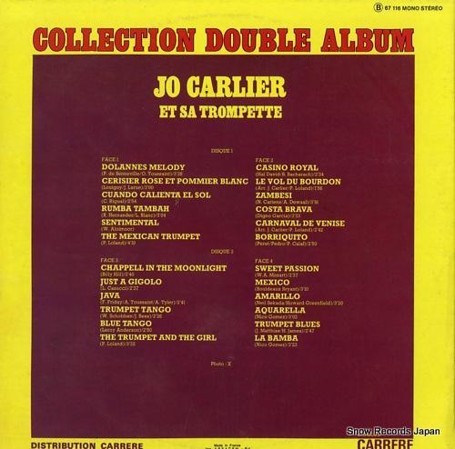 CARLIER, JO dolannes melody, vol du baurdon, just a gigolo B67116 - back cover