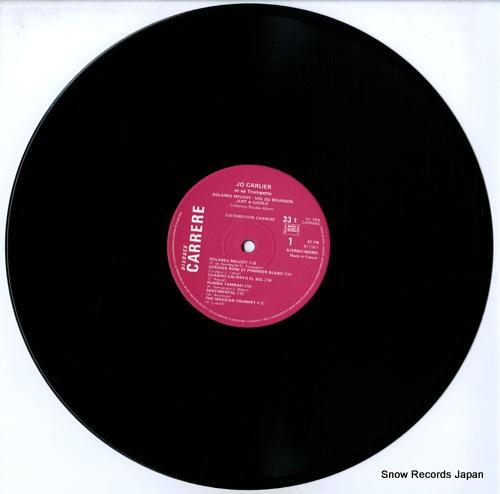 CARLIER, JO dolannes melody, vol du baurdon, just a gigolo B67116 - disc