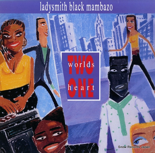 LADYSMITH BLACK MAMBAZO two world one heart 926125-1 - front cover