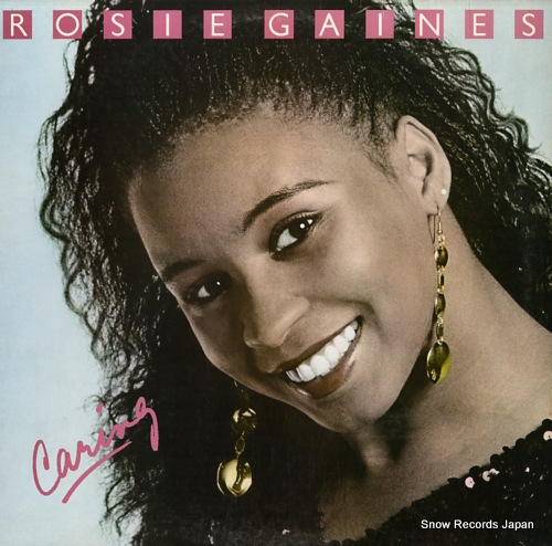 GAINES, ROSIE caring BFE40090 - front cover