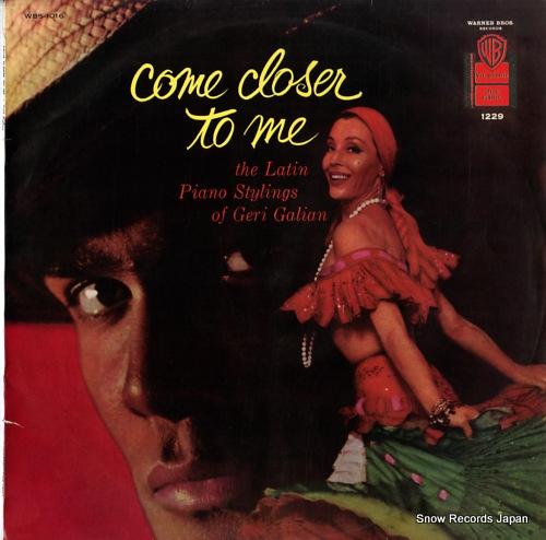 GALIAN, GERI / CABALLEROS come closer to me WBS-1016 - front cover