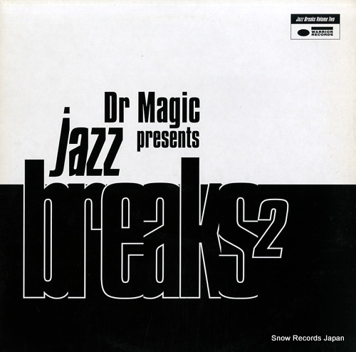 DR. MAGIC jazz breaks volume2 WRRLP024 - front cover