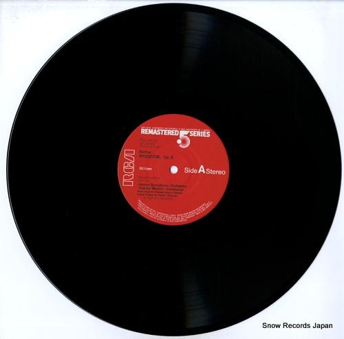 MUNCH, CHARLES berlioz; requiem RCL-5510-11 - disc