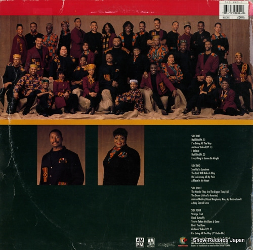 SOUNDS OF BLACKNESS africa to america / journey of the drum 549009-1 - back cover