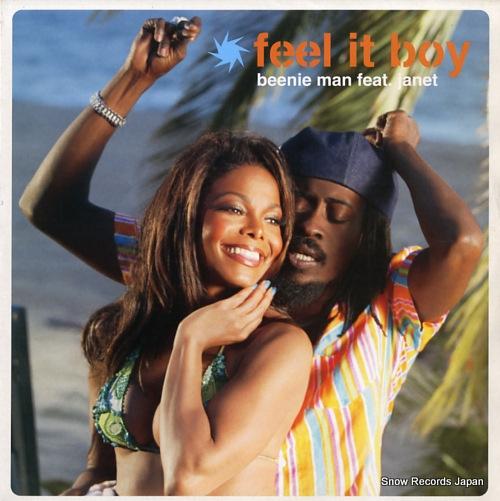MAN, BEENIE feel it boy VUST258 - front cover