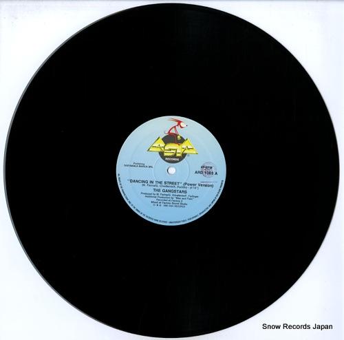 GANGSTARS, THE dancing in the street ARD1069 - disc