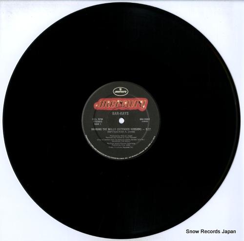 BAR-KAYS, THE banging the walls 884232-1 - disc