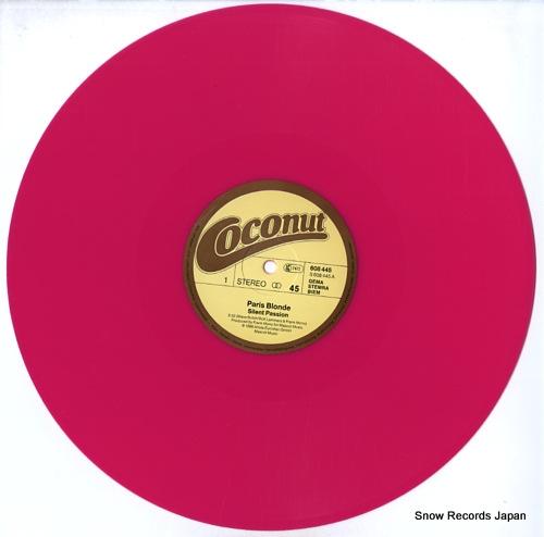 PARIS BLONDE silent passion 608445 - disc