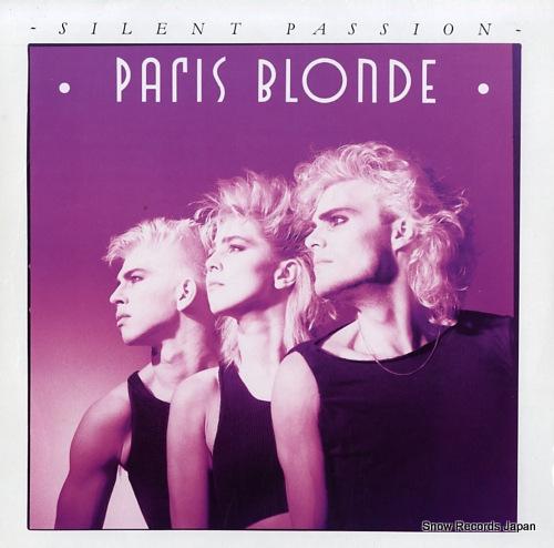 PARIS BLONDE silent passion 608445 - front cover