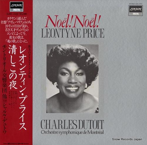 PRICE, LEONTYNE noel! noel! / kiyoshiko no yoru L28C-1582 - front cover