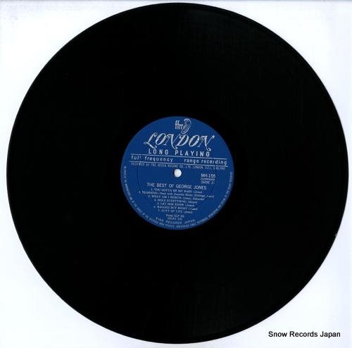 JONES, GEORGE the best of george jones MH155 - disc