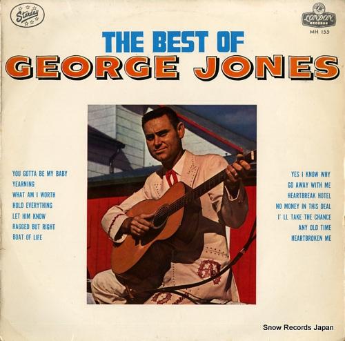 JONES, GEORGE the best of george jones MH155 - front cover