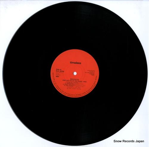 MACHITO machito and his salsa big band 1982 RJL-8056 - disc