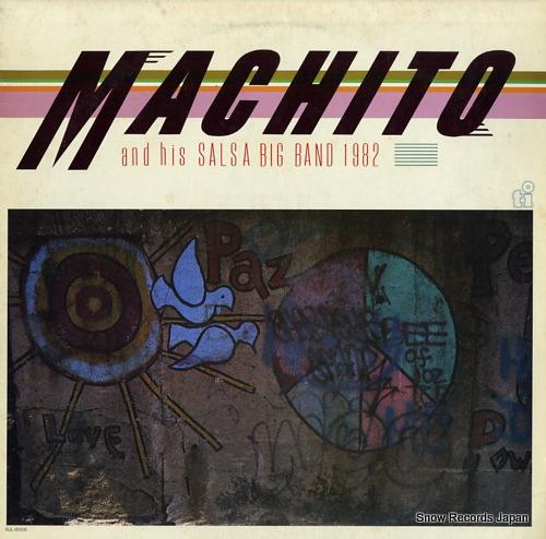 MACHITO machito and his salsa big band 1982 RJL-8056 - front cover