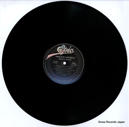 JEFFREYS, GARLAND escape artist JE36983 - disc