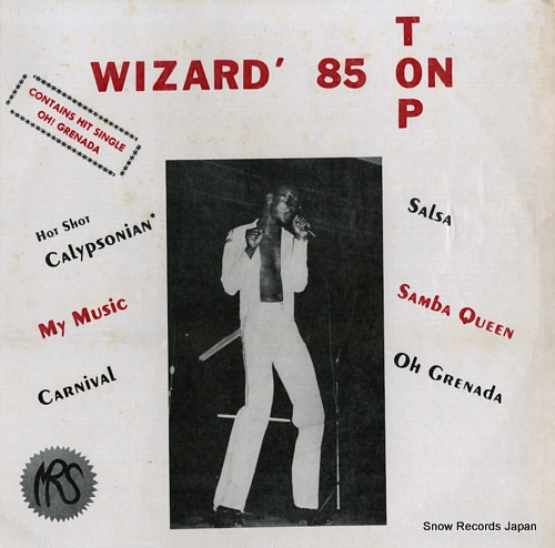WIZARD '85 on top A/B4352 - front cover