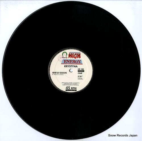 KRYSTYNA never say goodbye HE108 - disc