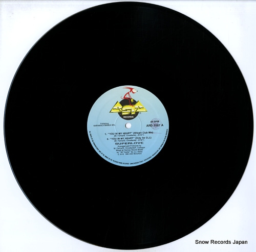 SUPERLOVE you in my heart ARD1067 - disc
