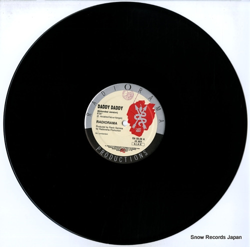 RADIORAMA daddy daddy (extended mix) RA8906/RA89.06 - disc