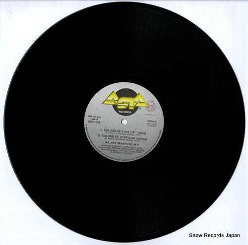BARCKLAY, ALAN colour of love ARD1034 - disc