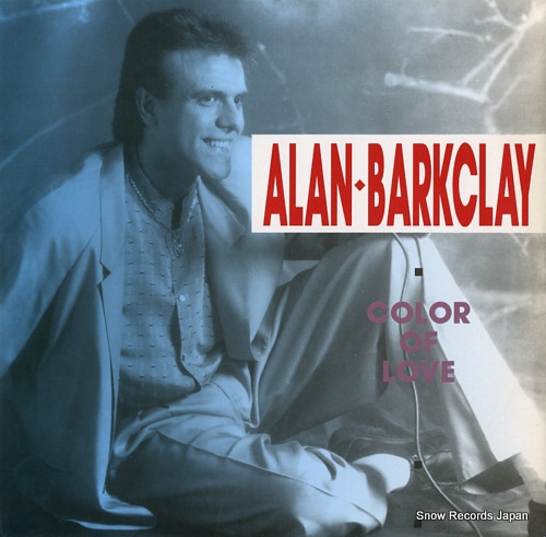 BARCKLAY, ALAN colour of love ARD1034 - front cover