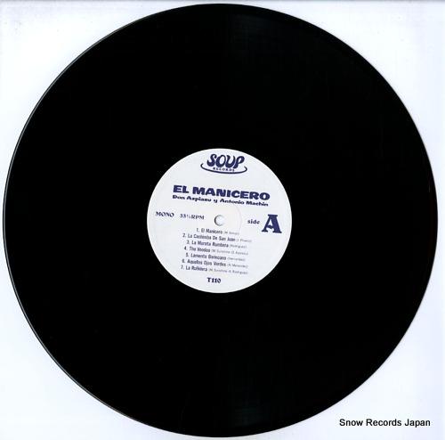 AZPIAZU, DON / ANTONIO MACHIN el manicero T110 - disc
