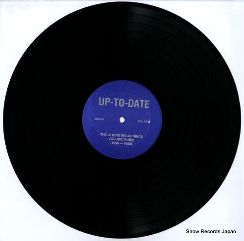 UP-TO-DATE the studio recordings volume three (1926-1952) U.T.D.2004 - disc