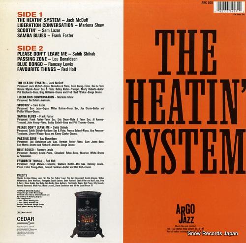 V/A the heatin' system / essential argo ARC508 - back cover