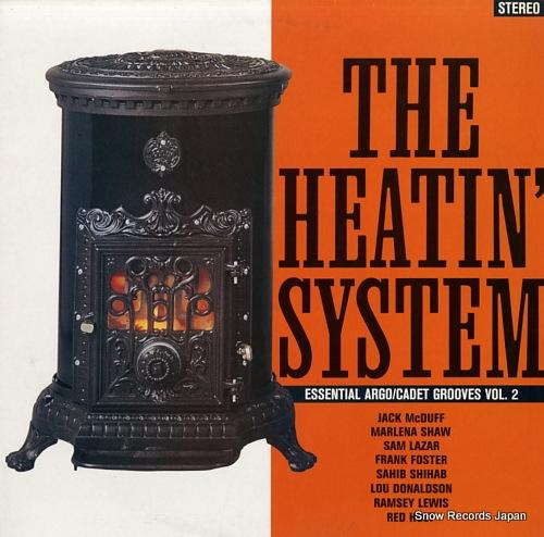 V/A the heatin' system / essential argo ARC508 - front cover