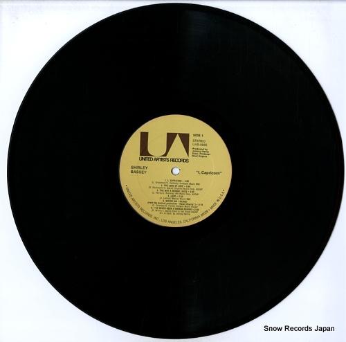 BASSEY, SHIRLEY i, capricorn UAS-5565 - disc