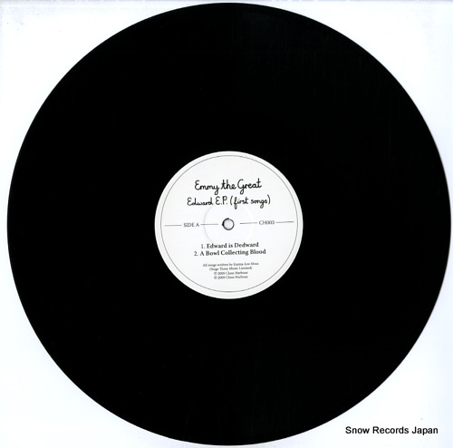 EMMY THE GREAT edward e.p. (first songs) CH003 - disc