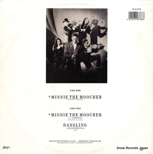 REGGAE PHILHARMONIC ORCHESTRA, THE minnie the moocher 12IS378 - back cover