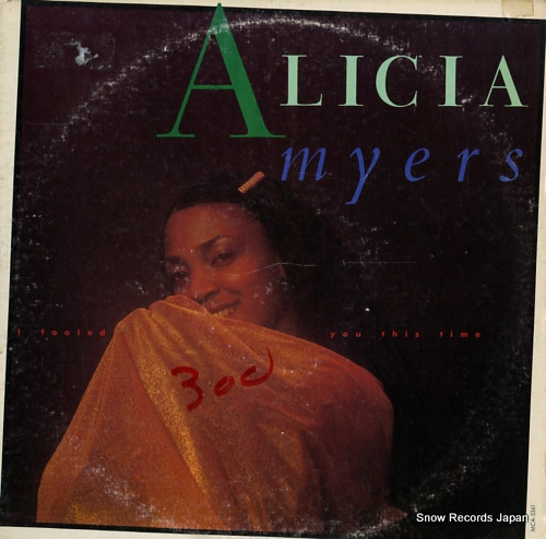 MYERS, ALICIA i fooled you this time MCA-5361 - front cover