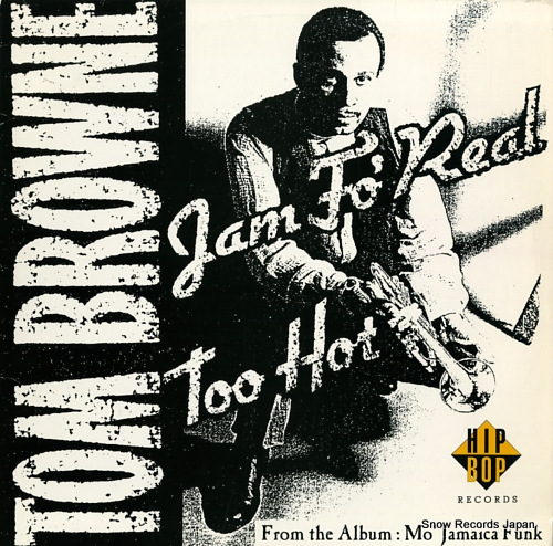 BROWNE, TOM jam fo' real / too hot HIBX8502 - front cover