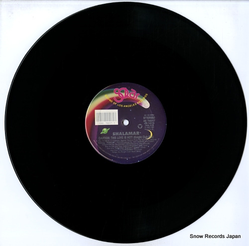 SHALAMAR caution: this love is hot 4574517 - disc