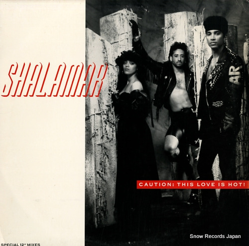 SHALAMAR caution: this love is hot 4574517 - front cover