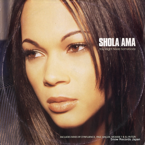 AMA, SHOLA you might need somebody WEA097T - front cover