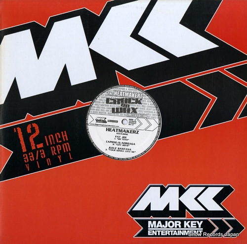HEATMAKERZ, THE crack on wax MK-107 - front cover