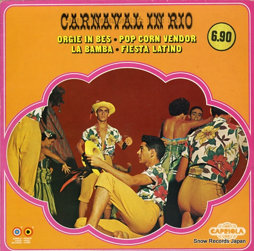 CHICO AND HIS LATIN SOUNDS carnival in rio CP531-H - front cover