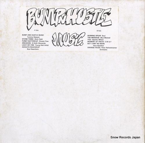 V/A bump 'n' hustle music BM.1 - front cover