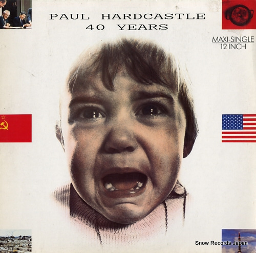 HARDCASTLE, PAUL 40 years 611530 - front cover
