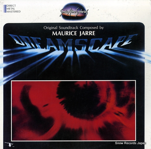 JARRE, MAURICE dreamscape SA102 - front cover