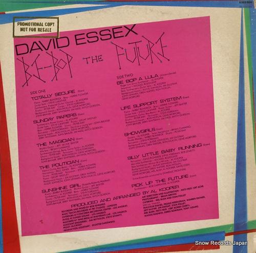 ESSEX, DAVID be-bop the future 6359064 - back cover