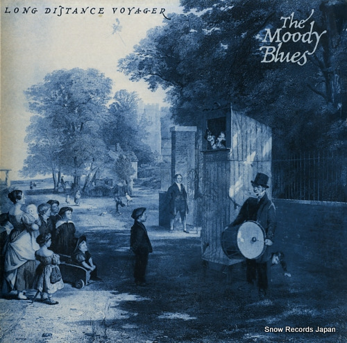 MOODY BLUES, THE long distance voyager TXS139 - front cover