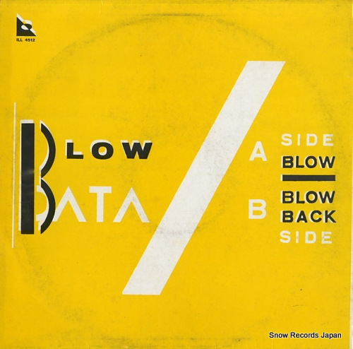 DATA blow ILL4512 - back cover