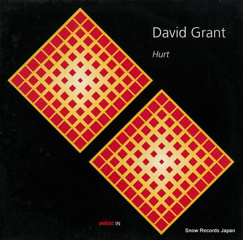 GRANT, DAVID hurt INTOX104 - front cover