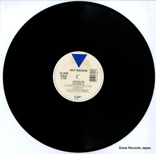 GEORGE, BOY live my life 0-96728 - disc