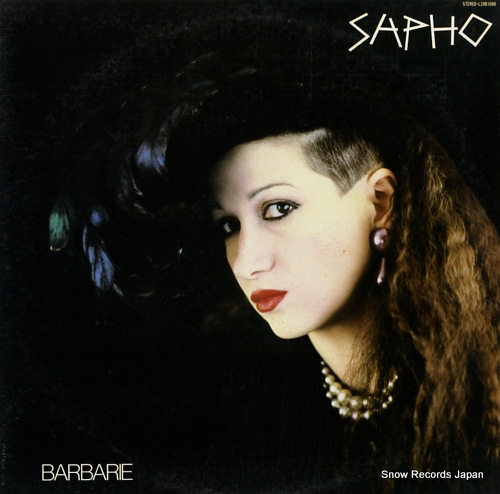 SAPHO barbarie L28B1086 - front cover